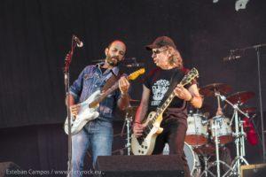 Los Enemigos en el Festival de Rock San Ginés 2014 Lanzarote