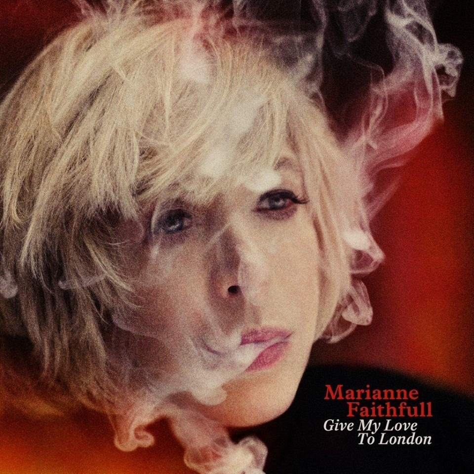 "Marianne Faithfull ""Give My Love To London"", nuevo disco"