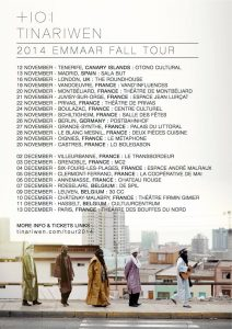 "Tinariwen confirma conciertos en Tenerife y Madrid en su ""Emaar Fall Tour"" 2014"