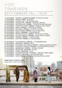 """Tinariwen confirma conciertos en Tenerife y Madrid en su """"Emaar Fall Tour"""" 2014"""
