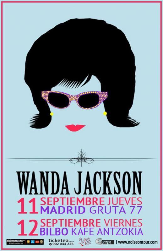 Wanda Jackson de gira en España en septiembre