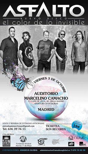 ASFALTO EL COLOR DE LO INVISIBLE PRESENTACION MADRID