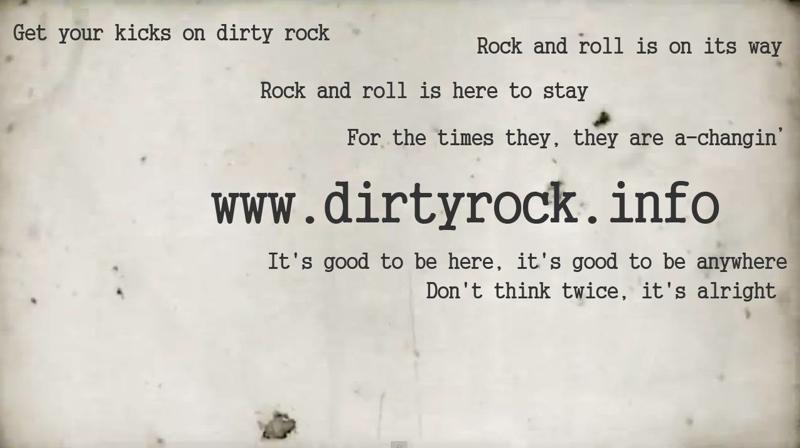 Bienvenido al nuevo Dirty Rock