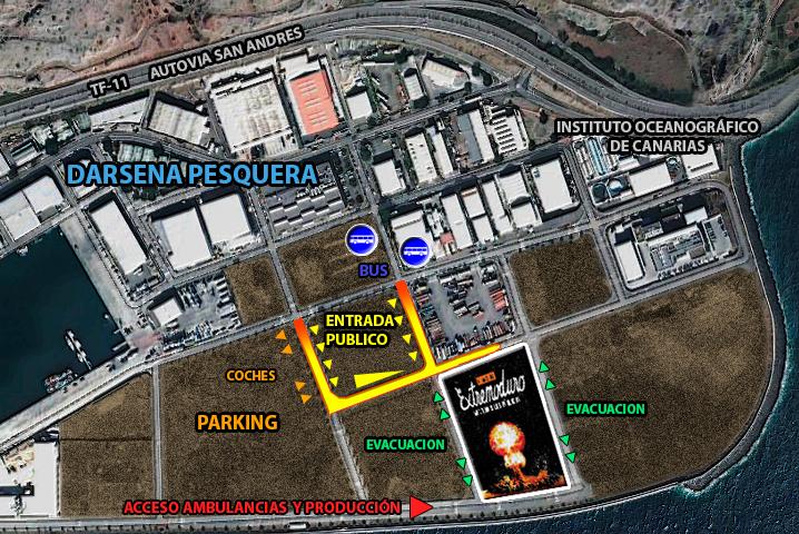 Extremoduro Tenerife, nueva ubicación