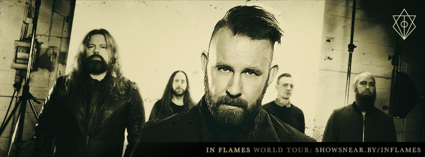 "In Flames presentan en España en octubre ""Siren Charm"""