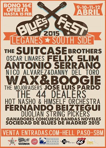 LEGANES BLUES SOUTH SIDE 2015