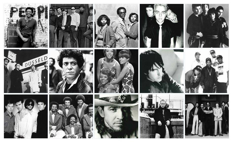Lou Reed, Green Day, Stevie Ray Vaughan & Double Trouble, Joan Jett & The Blackhearts, Bill Withers y The Paul Butterfield Blues Band nuevos miembros del Rock and Roll Hall of Fame 2015