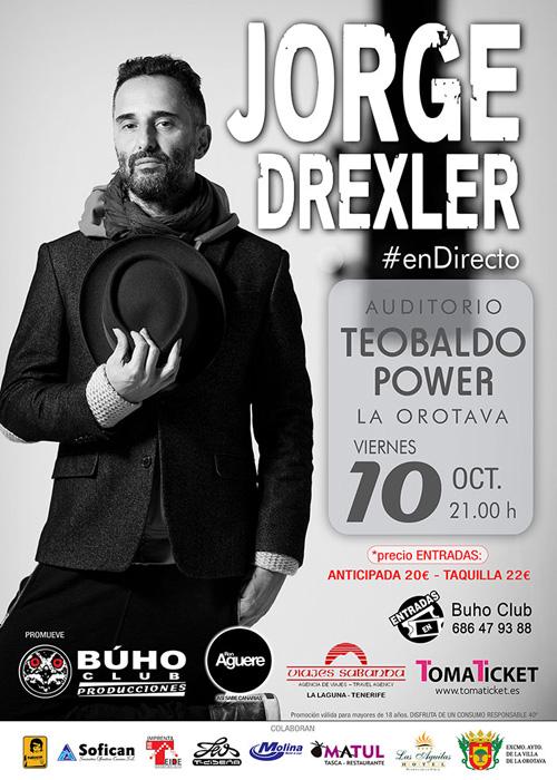 "Jorge Drexler presenta en Tenerife ""Bailar en la Cueva"""