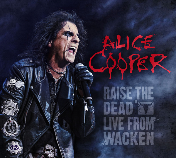 Alice Cooper publica nuevo CD y DVD Raise the Dead - Live From Wacken