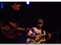 Ben Watt con Bernard Butler durante un concierto en California