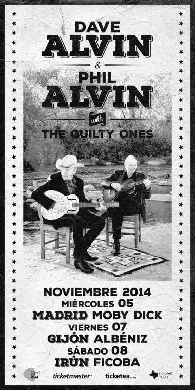 dave alvin & Phil alvin & the guilty ones de gira en españa para presentar Common Ground Dave Alvin & Phil Alvin Play And Sing The Songs Of Big Bill Broonzy