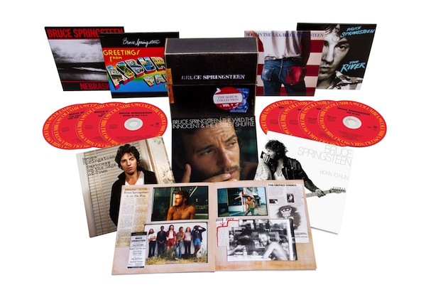 Bruce Springsteen reedita sus primeros discos en The Album Collection Vol.1 1973-1984