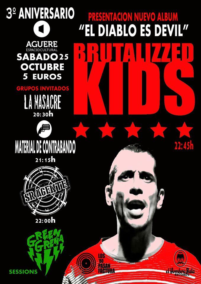 Brutalizzed Kids en el Aguere Music Festival, tercer aniversario