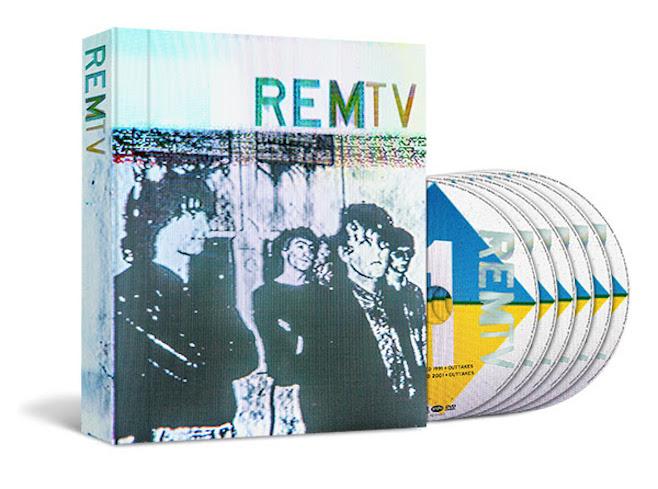 "R.E.M. PUBLICAN UNA CAJA DE 6 DVD TITULADA ""REMTV"""