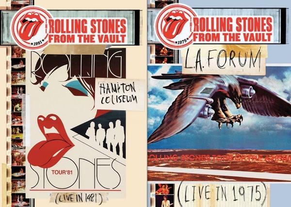 The Rolling Stones publican dos conciertos míticos del 81 y 75