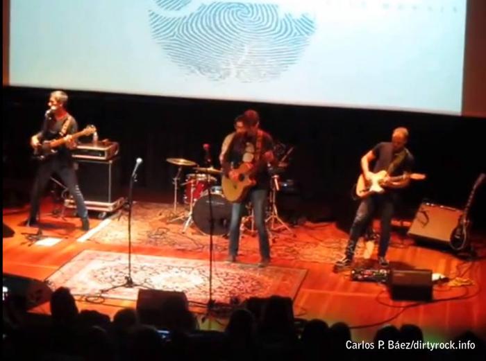 Sito Morales y su concierto de presentación de Antecedentes carnales octubre 2014