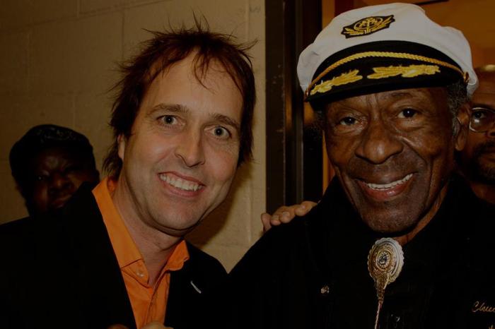 Chuck Prophey y Chuck Berry juntos. Entrevista a Chuck Prophet 2014