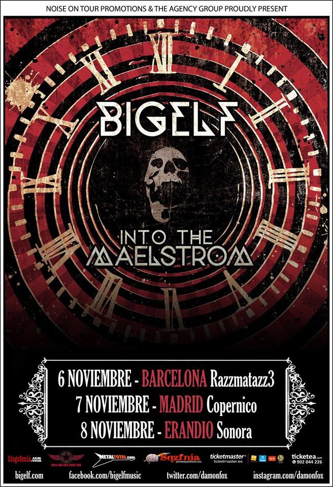 "Bigelf ""Into The Maelstrom"", nuevo disco y gira española"