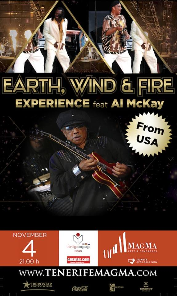 Earth, Wind & Fire Experience feat. Al McKay All Stars en Tenerife 2014