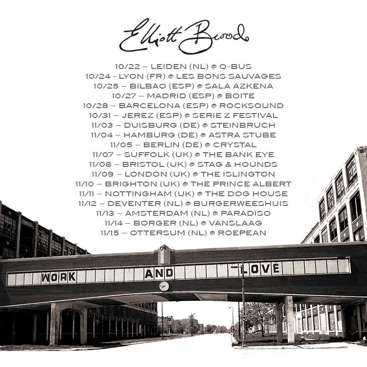 Elliott Brood Work and Love nuevo disco y gira española