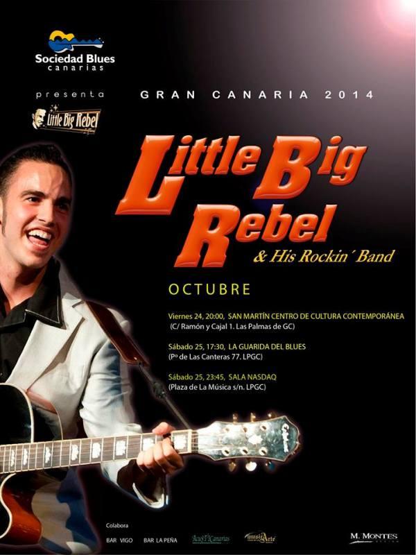 Little Big Rebel & His Rockin' Band en Gran Canaria
