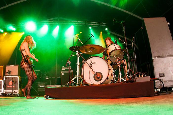 Deap Vally en el Azkena Rock Festival 2014. Rhythman Fotos