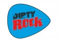 Dirty Rock magazine logo púa