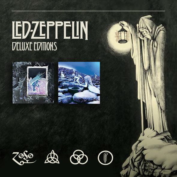 "Led Zeppelin reeditan  ""Led Zeppelin IV"" (1971) y ""Houses Of The Holy"" (1973)"
