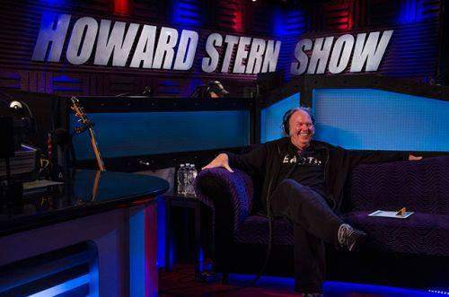 Neil Young en el programa de Howard Stern