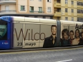 Wilco y portada que utilizó su web  2009