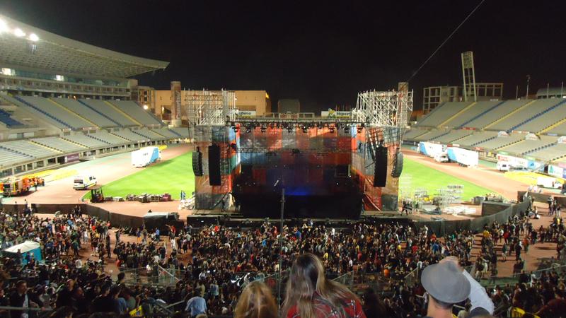 Extremoduro en el Estadio de las Palmas de Gran Canaria 2014