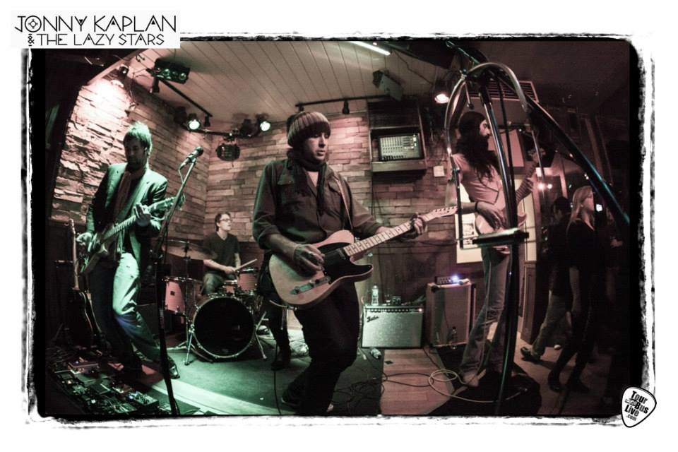 Jonny Kaplan and The Lazy Stars en España febrero 2015