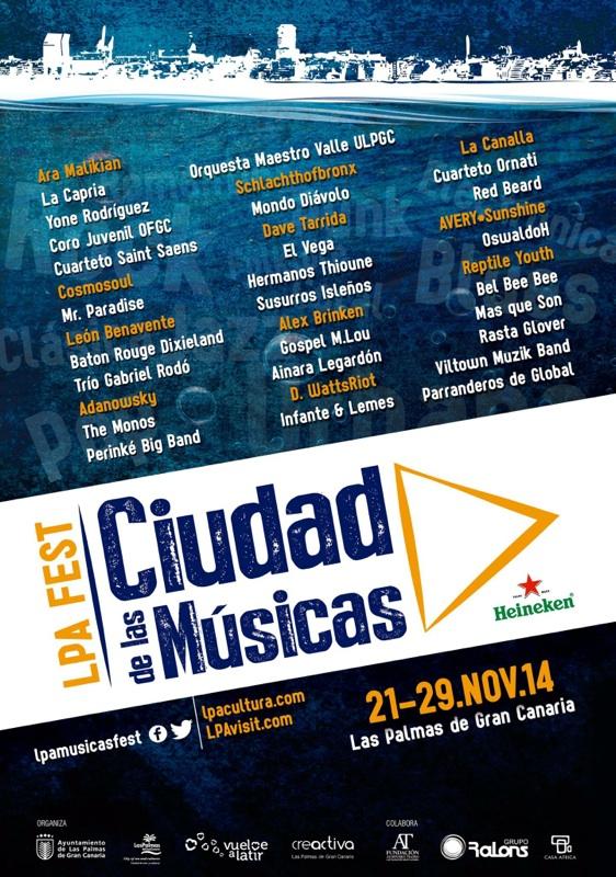 LPA Fest Ciudad de las Músicas