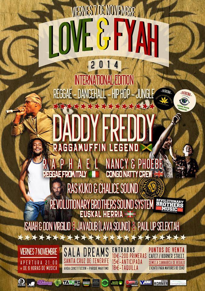 """Segunda edición del """"Love & Fyah"""" en Tenerife"""