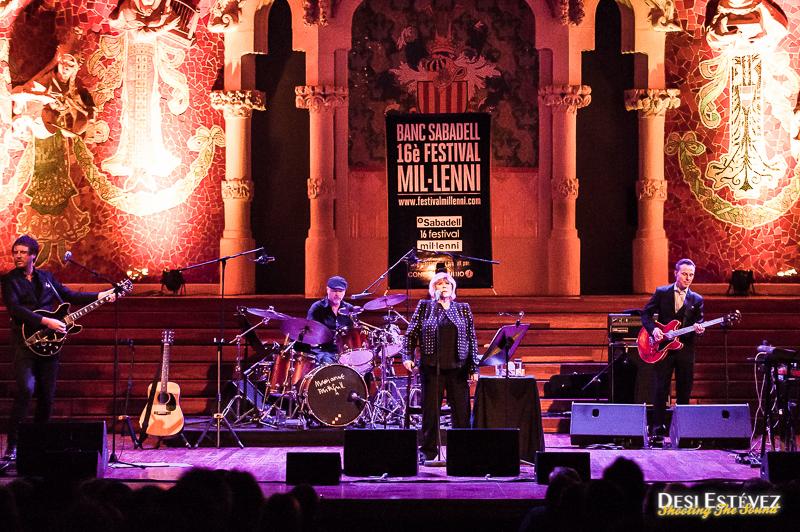 Marianne Faithfull en Barcelona Festival Millenni