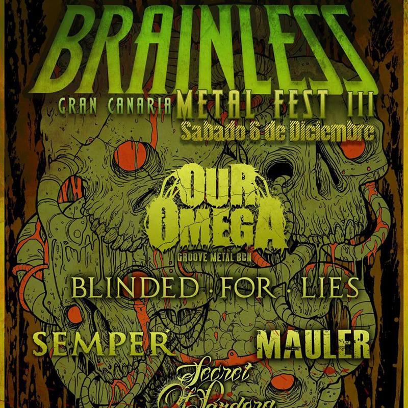 Brainless Metal Fest III en Gran Canaria. Chute de adrenalina