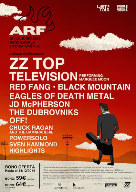 Television al Azkena Rock Festival interpretando el Marquee Moon