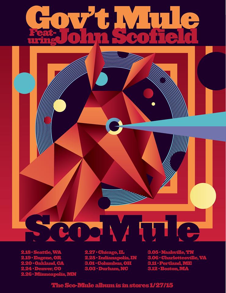 Gov't Mule Sco-Mule. nuevo disco junto a John Scofield