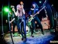 Spiders durante su actuación en el Rocksound de Barcelona