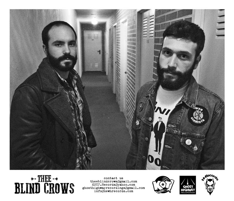 Thee Blind Crows debutan con Primitive Loud Blues su nuevo disco