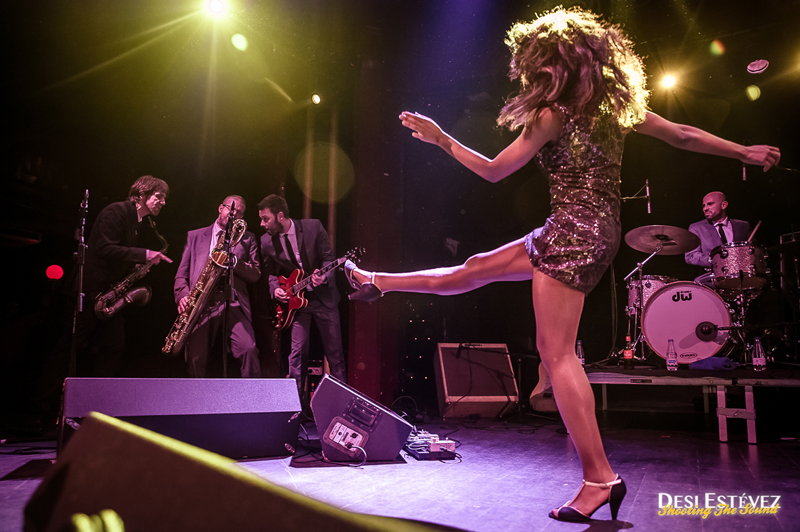 The Excitements en el Apolo Barcelona 2015.