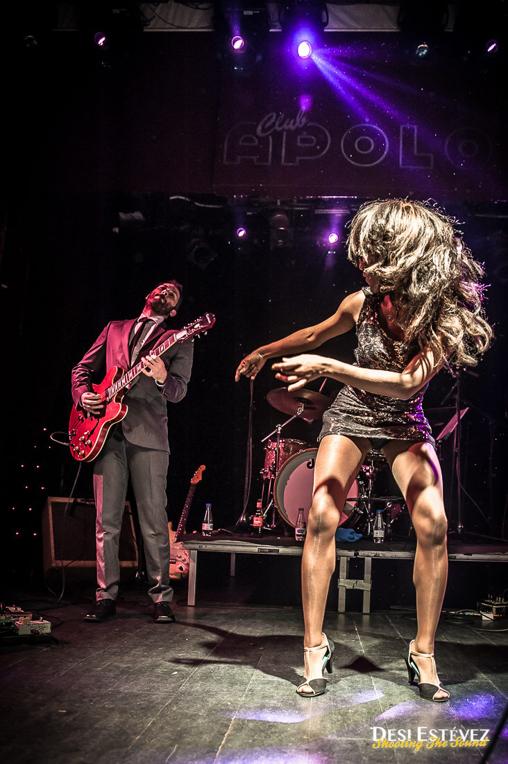 The Excitements en el Apolo Barcelona...