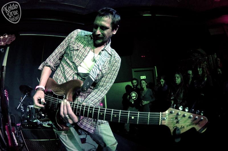 Luke Winslow-King en el Kafé Antzokia Bilbao