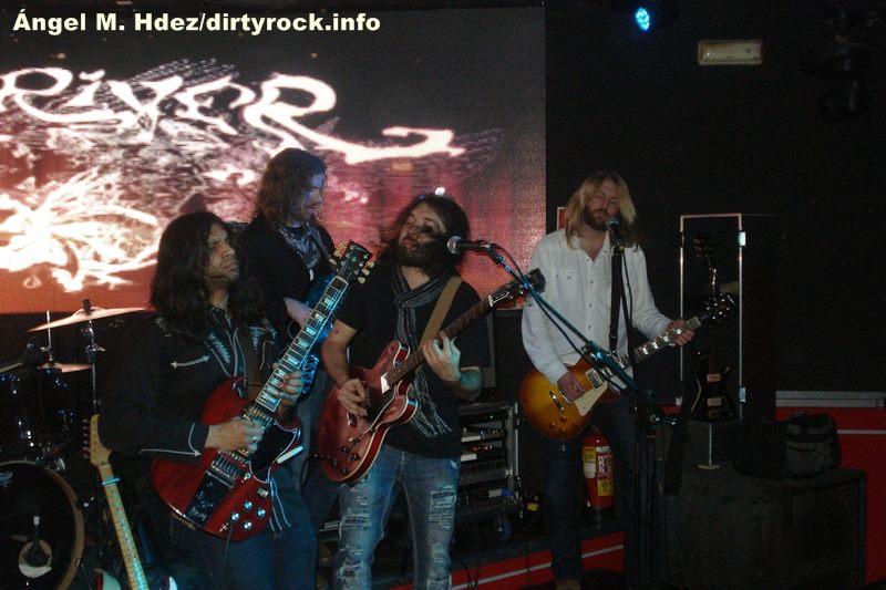 Stone River durante su actuación en Madrid