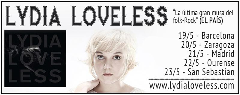 Lydia Loveless gira española 2015