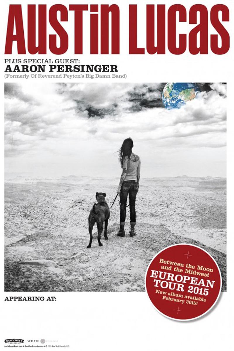 Austin Lucas de gira por España en febrero con Aaron Persinger de telonero