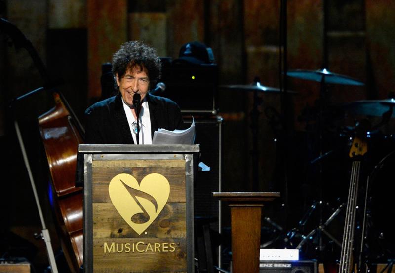 Bob Dylan Person of Year 2015 para MusiCares y sus agradecimientos