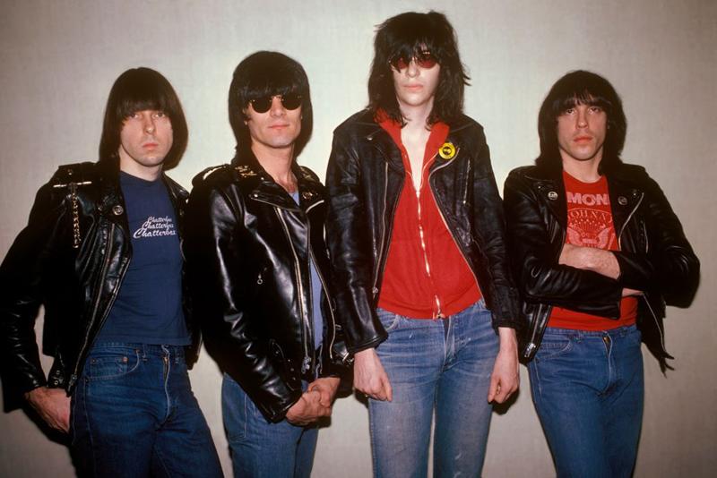 Marky Ramone en Tenerife. En la foto de Ramones con Johnny, Dee Dee, Joey y Marky