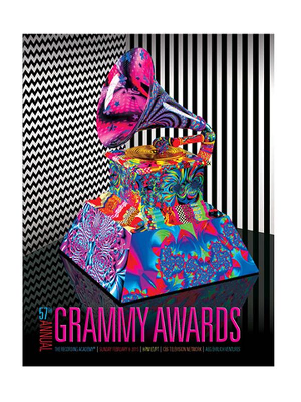 Chris Slade con ACDC en los premios Grammy 2015