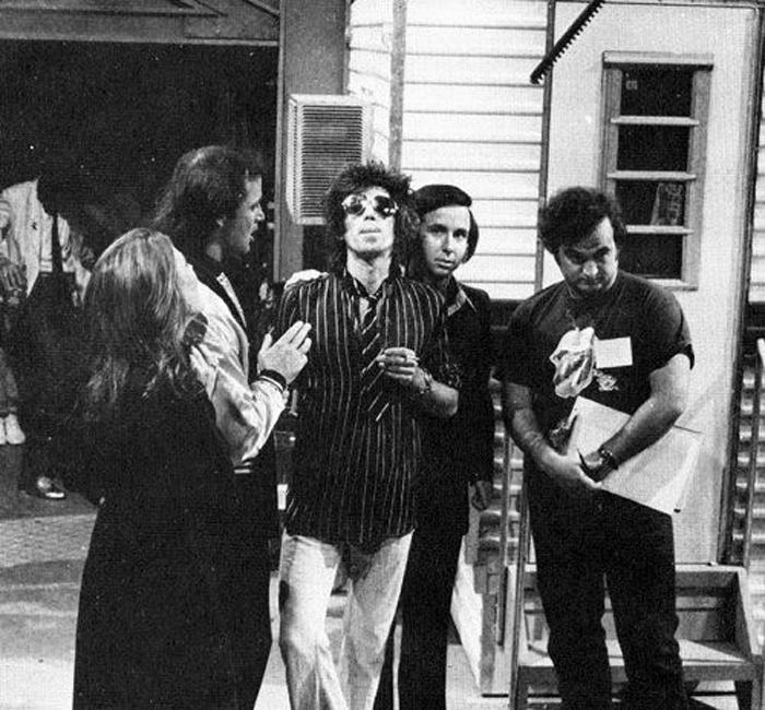 Keith Richards participa en el programa 40 aniversario de Saturday Night Live